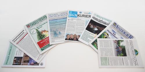 Portfolio Amtsblätter - Mugler Druck und Verlag